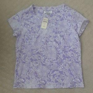 Coldwater Creek spring t-shirt